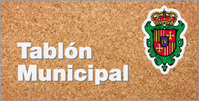 tablón municipal