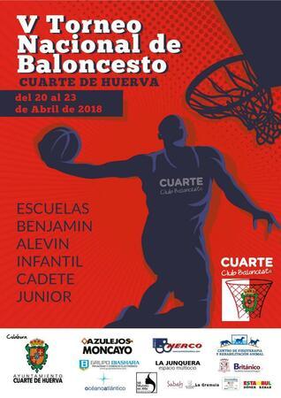 V TORNEO NACIONAL DE BALONCESTO CUARTE DE HUERVA - Ayuntamiento de ...
