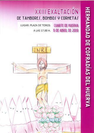 XXIII EXALTACIÓN TAMBORES, BOMBOS Y CORNETAS EN CUARTE DE HUERVA ...