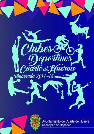 CLUBES DEPORTIVOS CUARTE 2017/18 - Ayuntamiento de Cuarte de Huerva