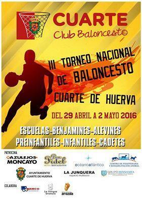 III TORNEO NACIONAL DE BALONCESTO CUARTE DE HUERVA - Ayuntamiento de ...